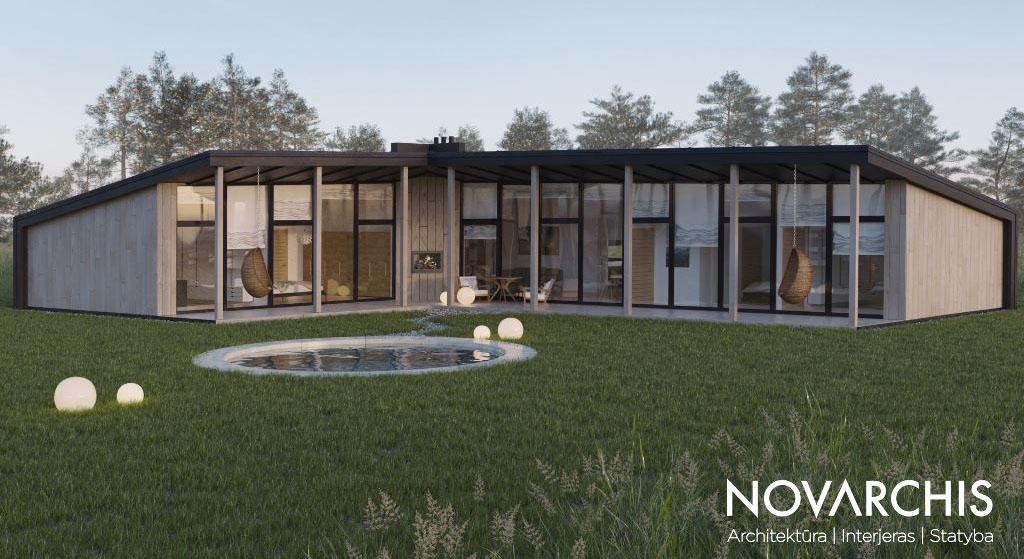 """Gyvenamasis namas """"NLN"""""""